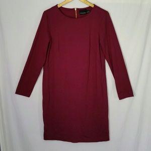 Cynthia Rowley Dress 3/4 Sleeve Stretch Zipper 6